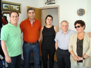 September 2008 During Rosh Hashanah, Reem and her husband helped us to apply for the foundation  Thank You!!